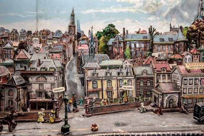 Nijmegen/Nederland:   Maquette Benedenstad in 1932  Dgfoto  Foto: Bert Beelen