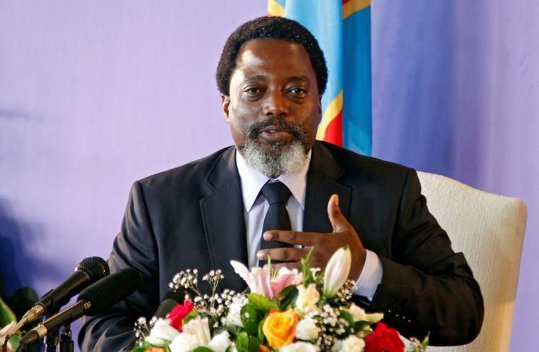 Huidig president van de Democratische Republiek Congo, Joseph Kabila. Beeld REUTERS