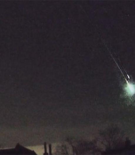 Un météore aperçu ce matin en Belgique