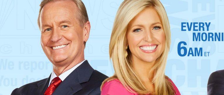 De presentatoren van Fox & Friends. Beeld Fox News