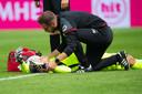 RKC-keeper Etienne Vaessen wilde na zijn hoofdblessure zelf keepen tegen ADO Den Haag dit weekend, maar de medische staf van zijn ploeg steekt daar een stokje voor.