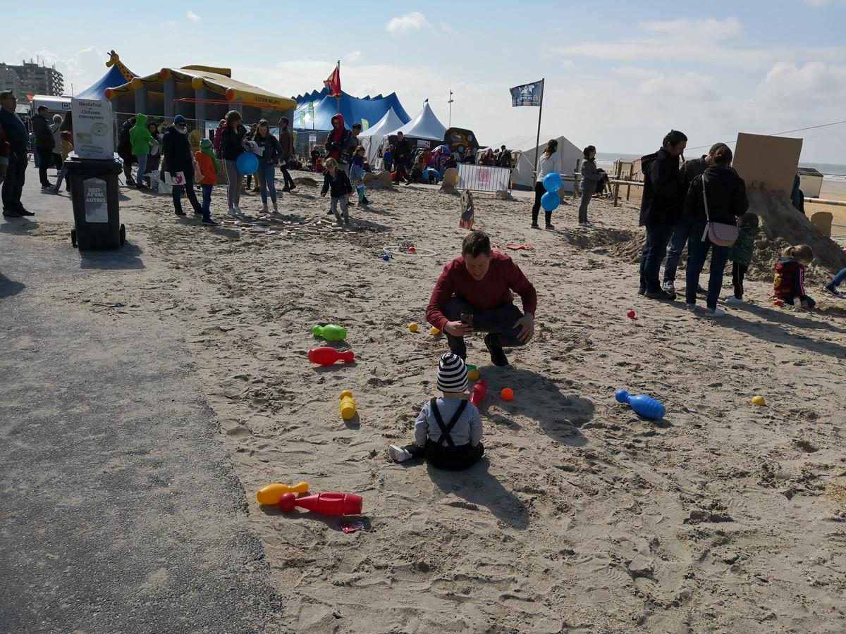 Festival aan Zee is op maat van gezinnen.