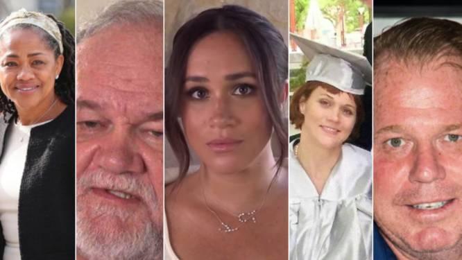 'Meet the Markles': dit zijn de opvallende familieleden van Meghan, die elk hun eigen vete hebben met de hertogin