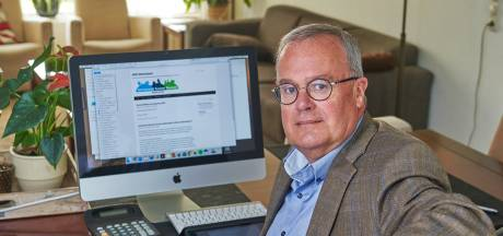 Wethouder Pieter van Dieperbeek van Bernheze tijdelijk afwezig