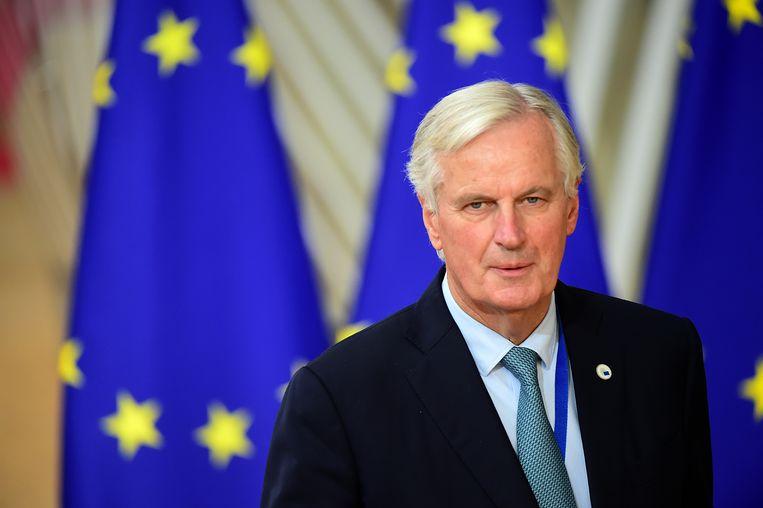 Ondanks jarenlange intensieve onderhandelingen met het VK heeft niemand Michel Barnier kunnen overtuigen van welke toegevoegde waarde ook van een Brexit.  Beeld Getty Images