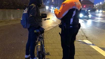 Eén op vijf fietsers niet in orde met verlichting