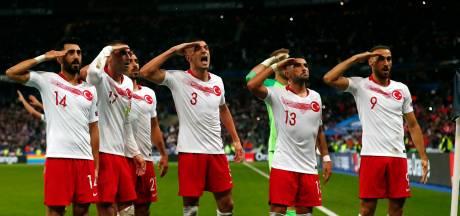 Boete Turkse voetbalbond voor militaire groet