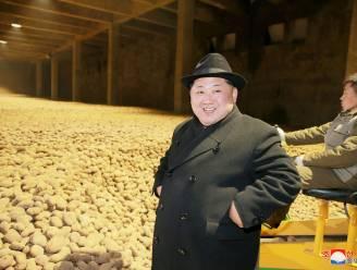 Fotoshoppers gaan uit de bol met Kim Jong-Un die poseert met miljoenen aardappelen