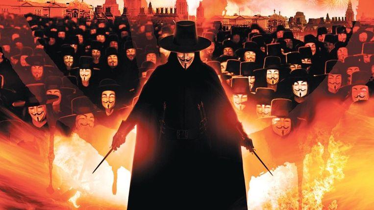 """De film 'V For Vendetta' plots weer massaal bekeken: """"Gelijkenissen met 2020 zijn huiveringwekkend"""""""