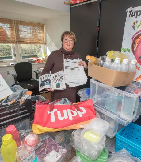Nederland bestelt nog massaal Tupperware-artikelen: 'Als het aan de klanten ligt, beginnen we gisteren weer'