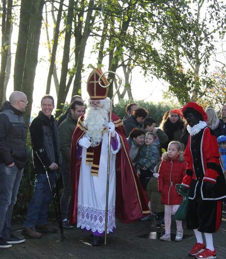Sint had een goede nachtrust in 't Klooster in Haren