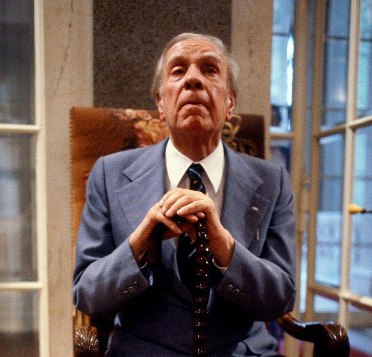 Jorge Luis Borges Beeld getty