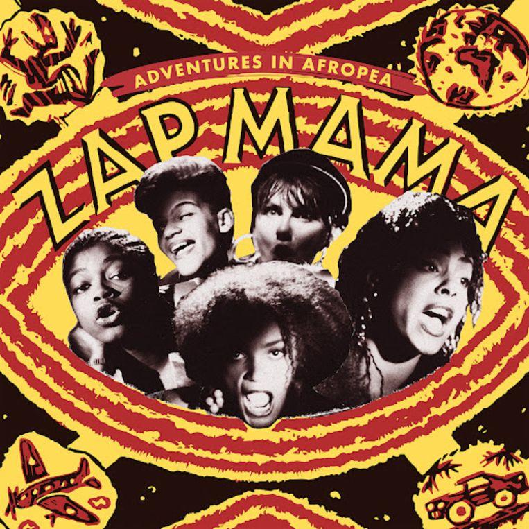 Het titelloze debuut van Zap Mama in 1991. Beeld rv