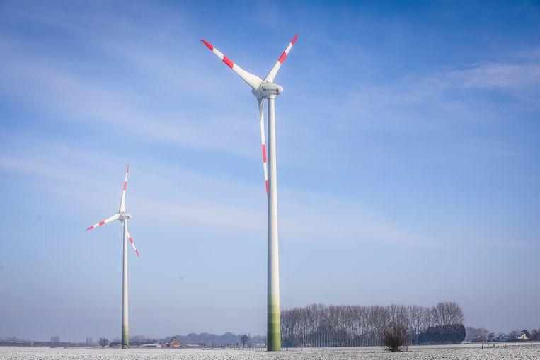 In Gistel staan momenteel acht windturbines