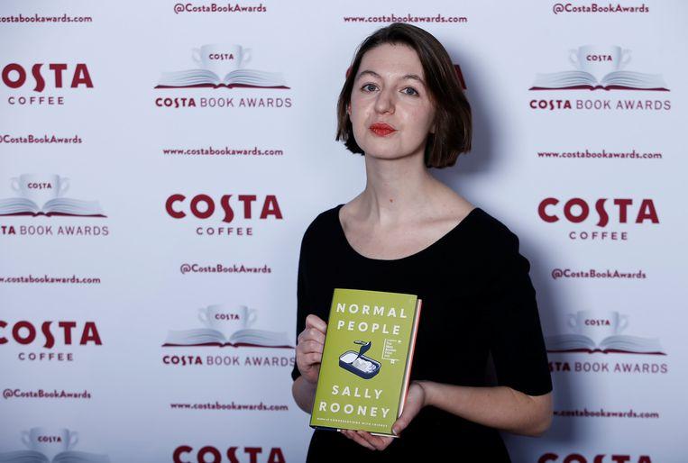 Rooney brak echt door bij het grote publiek met haar tweede roman 'Normale Mensen'. Ze zegt nu niet tegen een Hebreeuwse uitgave van haar derde boek te zijn, mits het uitgebracht wordt door een uitgever die zich aan de richtlijnen van de BDS-beweging houdt.  Beeld Reuters