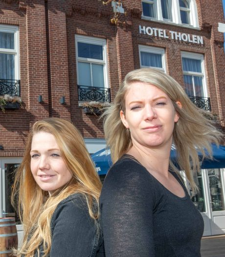 Nul euro steun: starters Nathalie en Judith zien hun Thools hotel-restaurant door de vingers glippen