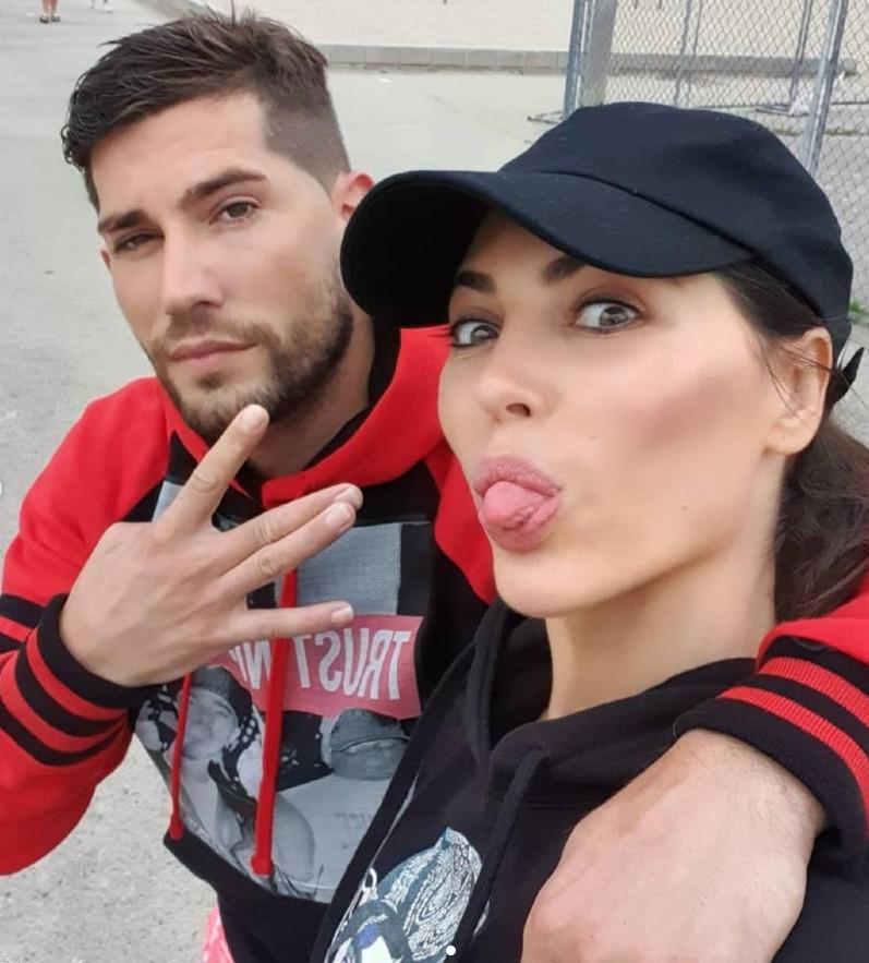 Yolanthe en haar broer Xavier.