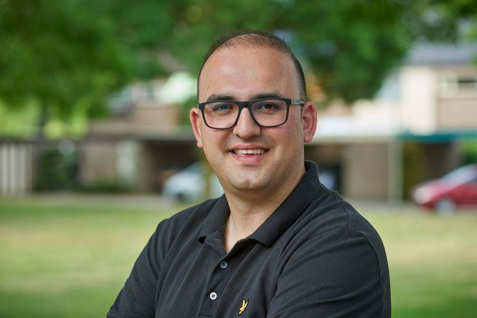 Bekir Atman is de nieuwe leider van D66 Oss.
