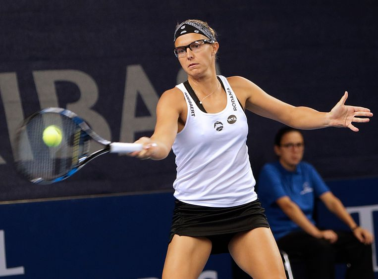 Kirsten Flipkens. Beeld Photo News