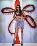 Ivana Smit op de catwalk voor lingeriemerk Triumph een paar dagen voor haar dood.