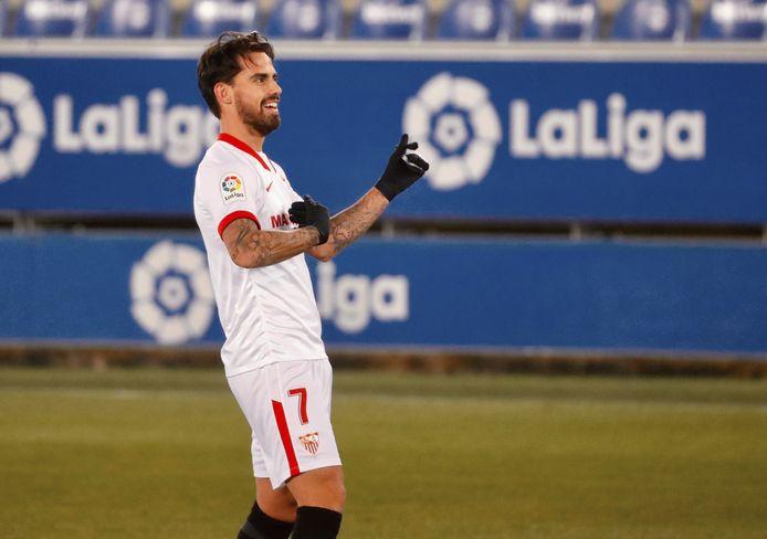 Suso, héros du FC Séville à Alavès.