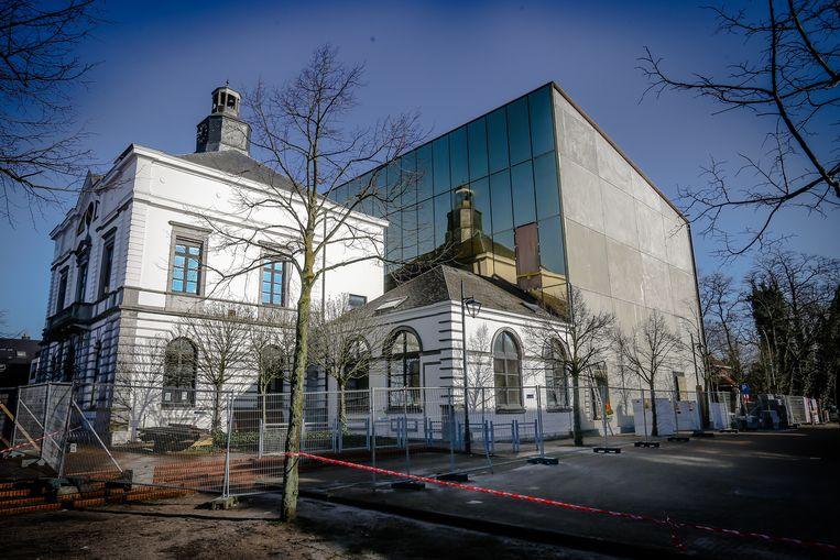 Het gemeentehuis van Leopoldsburg.