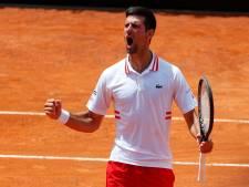 Djokovic en demies à Rome en renversant Tsitsipas