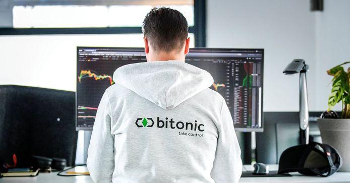 Ook bij bitcoinbedrijf Bitonic is het weer flink druk.