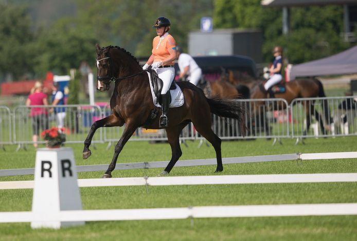 Mireille ten Have werd regiokampioen in Zevenaar.