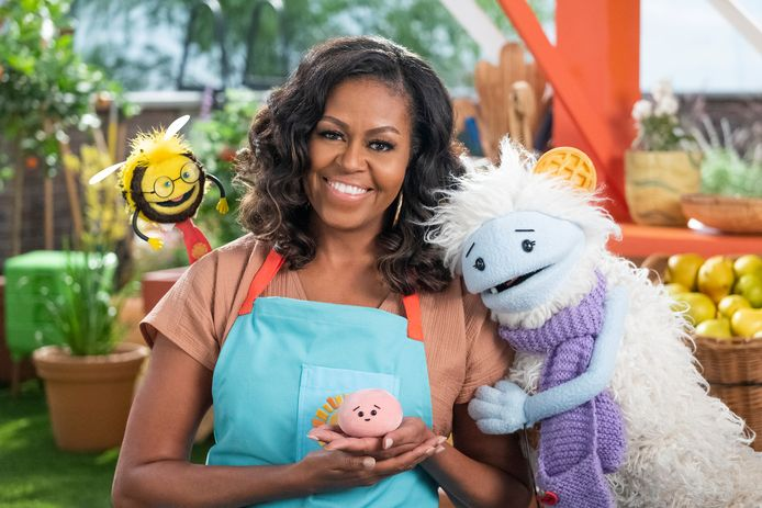 Michelle Obama in Wafeltje en Mochi.