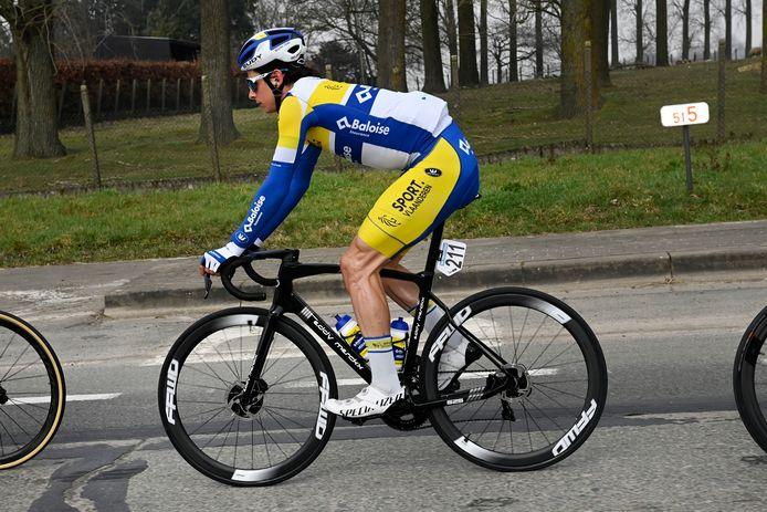 De zeventiende plaats van Cedric Beullens in de Omloop was opmerkelijk.