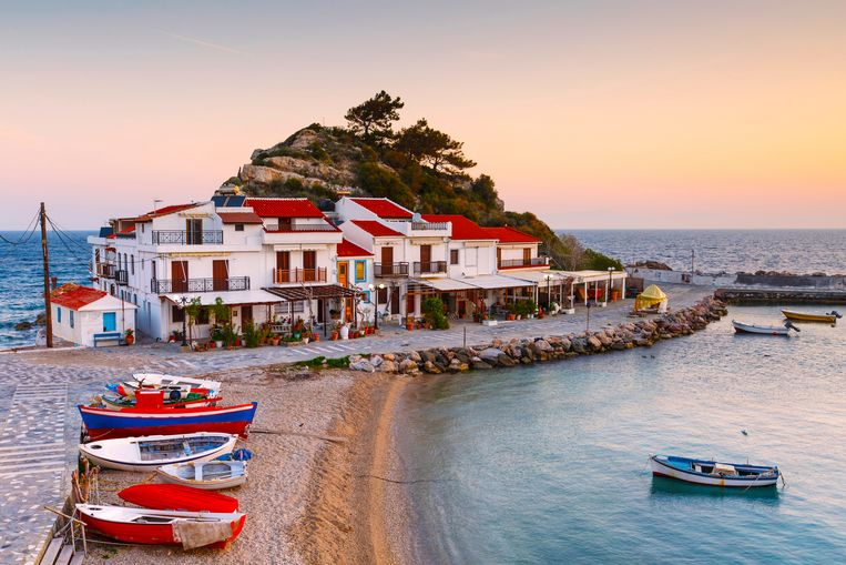 Het Griekse eiland Samos. Beeld Getty Images/Cavan Images RF