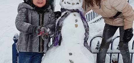Brabant vermaakt prima zich in de sneeuw