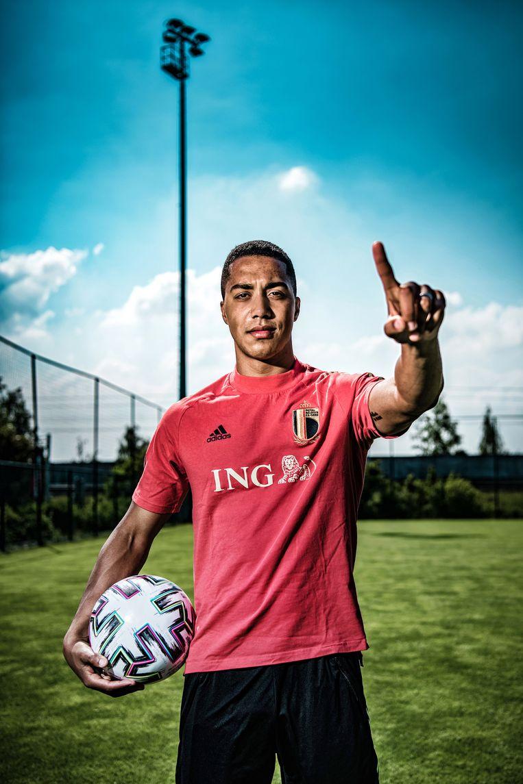 'Als 16-jarige ging ik bij Anderlecht om met dertigers die kinderen hadden. Dat heeft me de zin gegeven om er ook jong aan te beginnen.' Beeld Geert Van de Velde