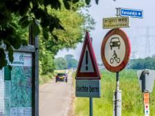 Kat-en-muisspel aan Kanaaldijk tussen Delden en Hengelo: 'Uitwijken voor de auto's die ook nog eens veel te hard rijden'