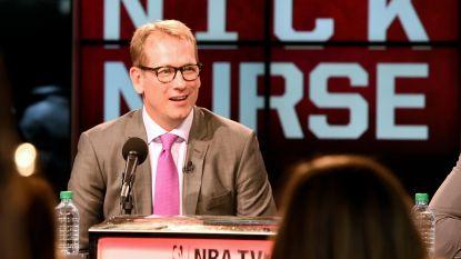Nick Nurse wordt gepromoveerd tot hoofdcoach bij Toronto Raptors