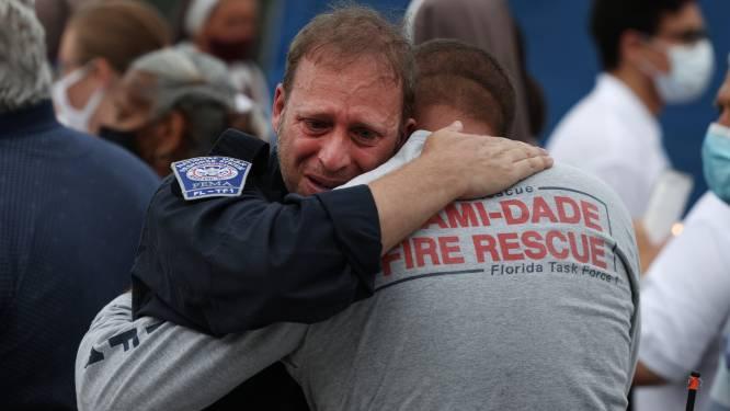 Tranen en gebeden bij einde reddingsoperatie flatramp Miami: 'We hebben alles geprobeerd'