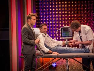 Gunther Levi krijgt live adrenaline ingespoten tijdens 'De Cooke & Verhulst Show'