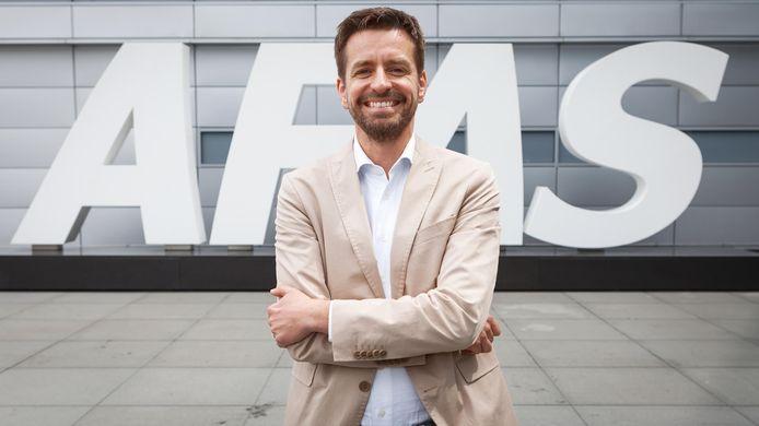 Bas van der Veldt, algemeen directeur van AFAS Software
