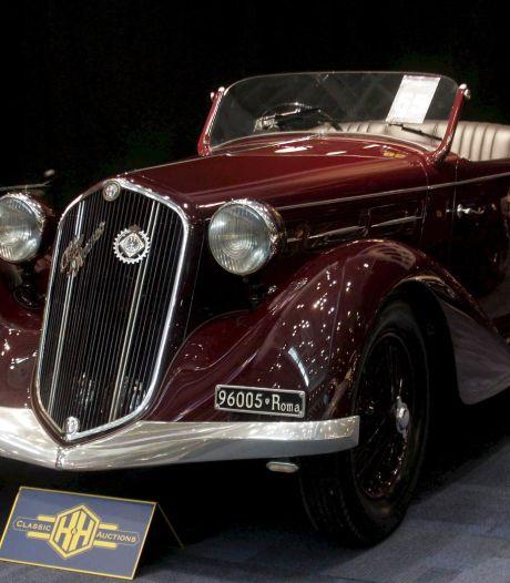 Auto van Mussolini geveild voor 180.000 euro