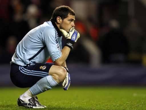 Il y avait belle lurette qu'Iker Casillas n'avait plus pris autant de buts. Sans lui, l'addition aurait été bien plus lourde encore.