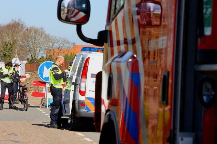 Dode man aangetroffen openbare weg in Velddriel.