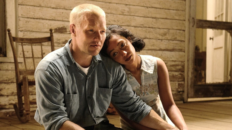 Joel Edgerton en Ruth Negga in 'Loving' Beeld TMDB
