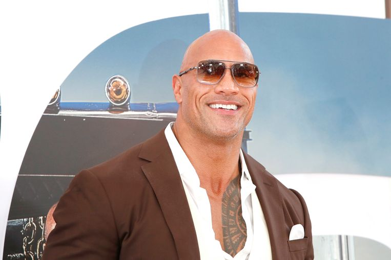 Dwayne 'The Rock' Johnson. Beeld EPA
