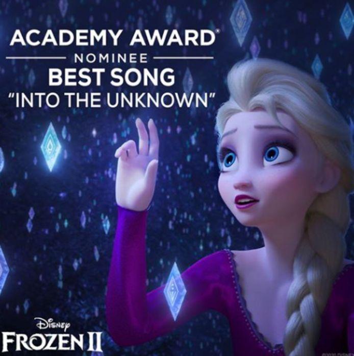 'Frozen 2' kreeg minder nominaties dan verwacht.