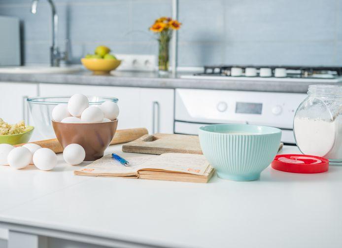 Keukenmachines zijn handig als je deeg maakt.