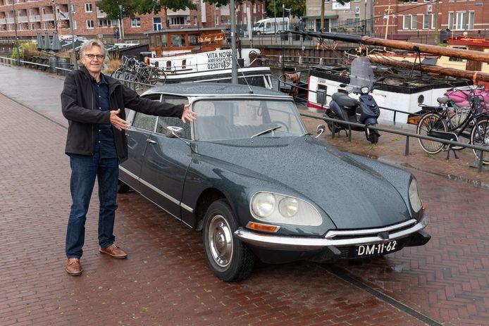 Citroën DS van Aitze van den Bos voor autoserie - verslag: Annemarie Degens
