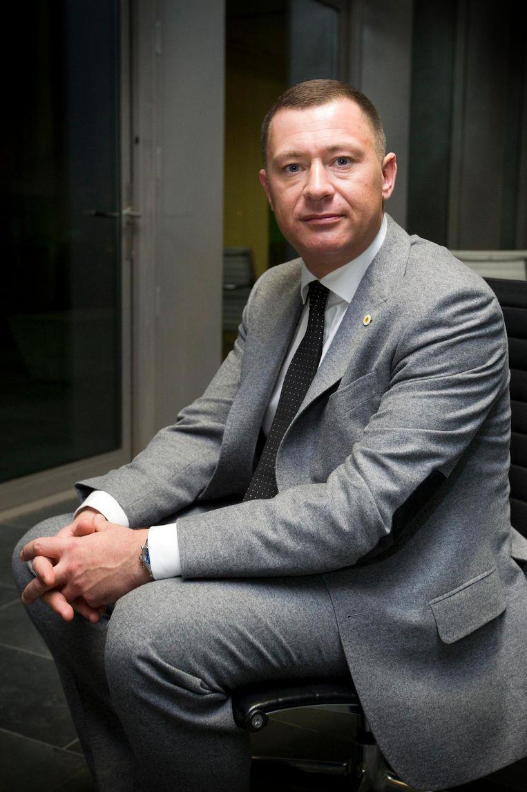 Burgemeester Peter Reekmans van Glabbeek Beeld belga