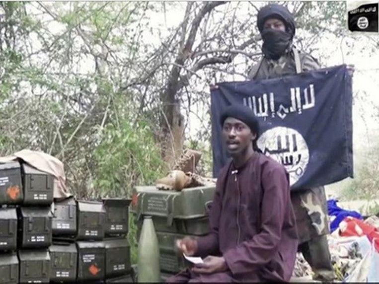 Abu Musab al-Barnawi Beeld ISIS