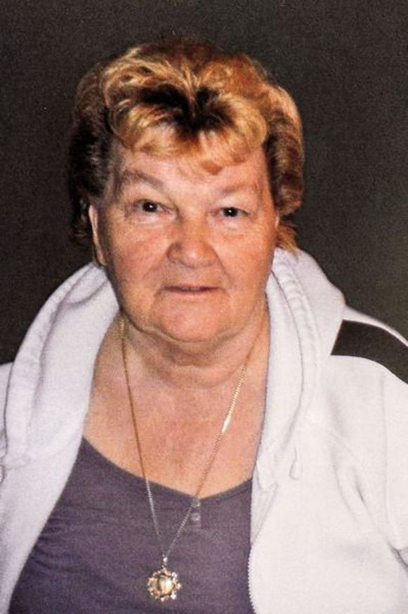 Slachtoffer Leopoldine De Decker.